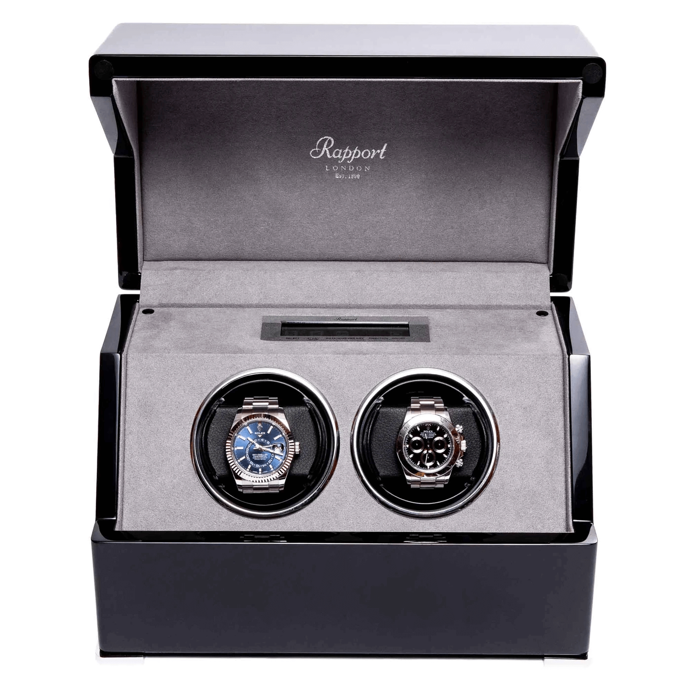 Perpetua III Duo Watch Winder with Touch Screen