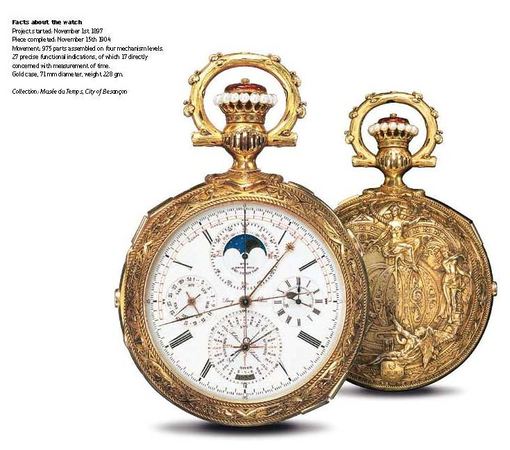 Leroy 1, the worlds most complicated timepiece until 1989