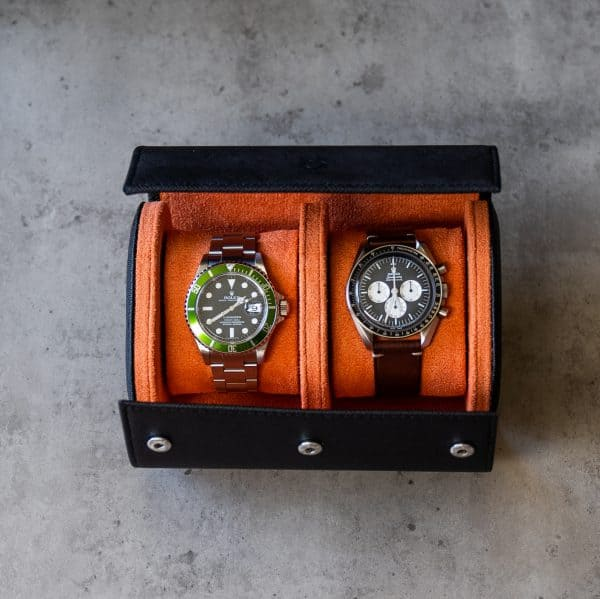two slot watch roll